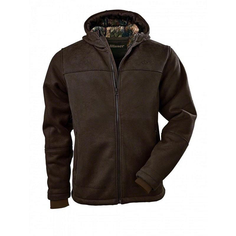 Blaser Nicolas Suede kabát - sötétbarna - Vadász felszerelés b38ce87a25